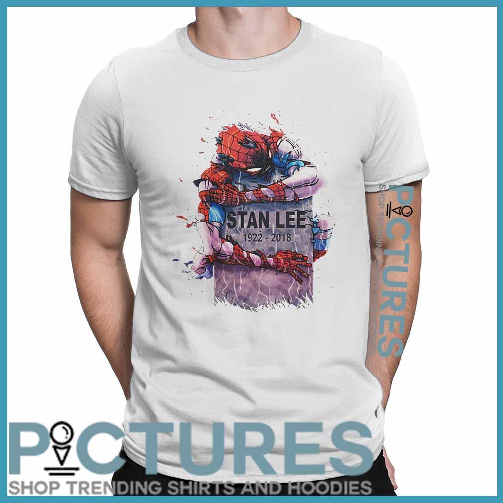 Spiderman Rip Stan Lee 1922 2018 Shirt