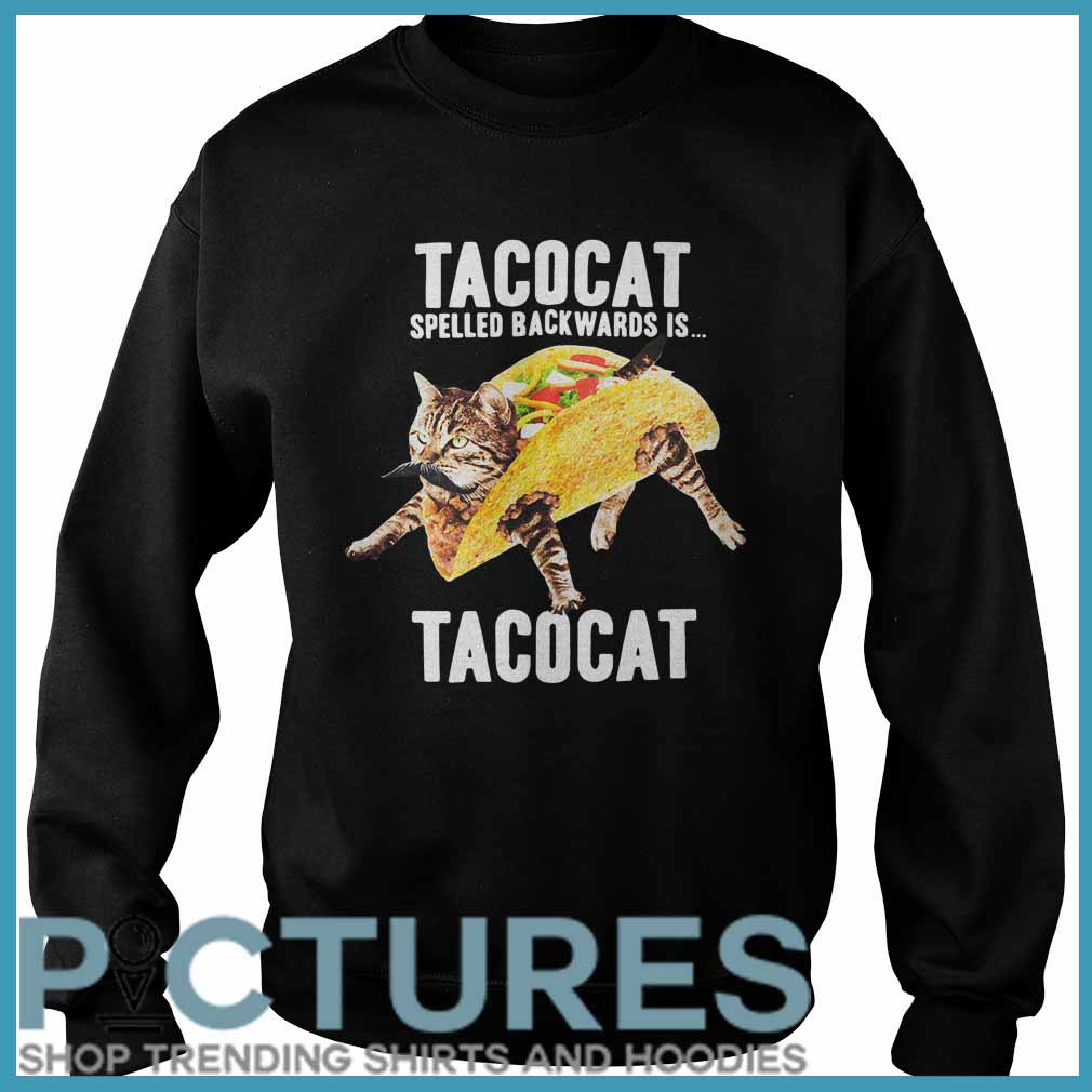 Tacocat Spelled Backwards Is Tacocat Sweater