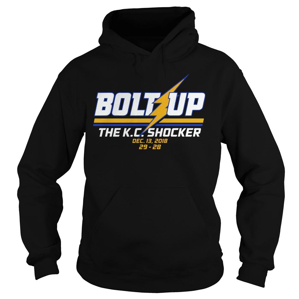 Bolt up the K.C. Shocker hoodie