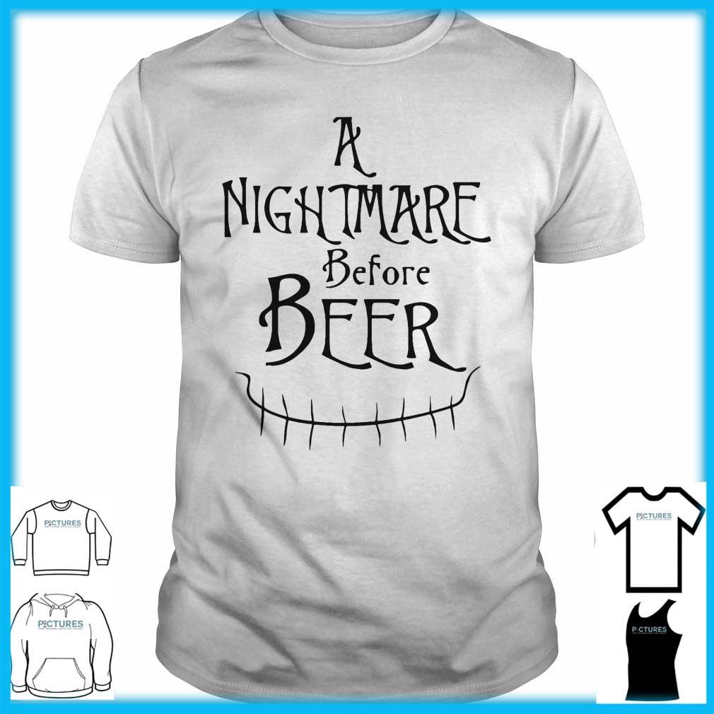 A Nightmare Before Beer Guys Tee