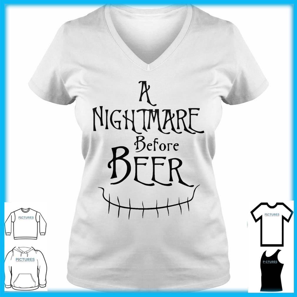 A Nightmare Before Beer V-neck