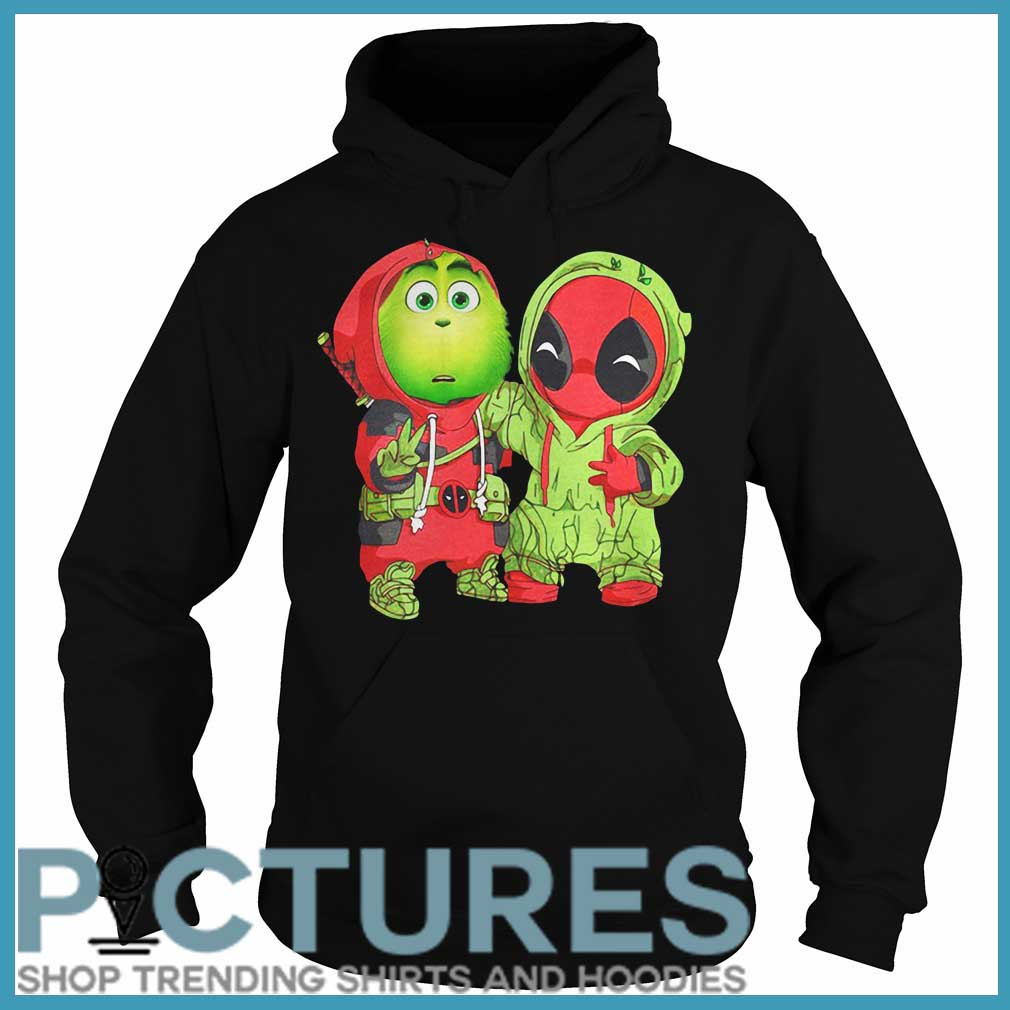 Grinch Deadpool Christmas Hoodie