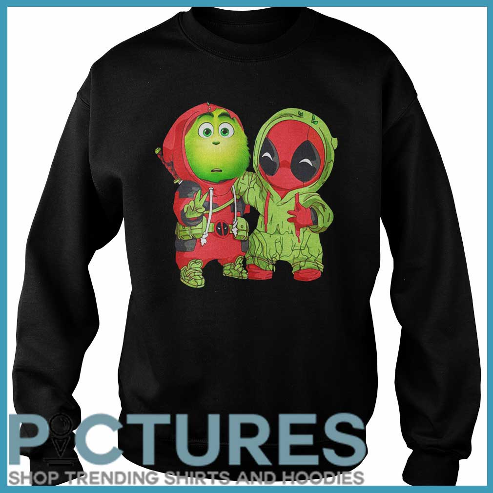 Grinch Deadpool Christmas Sweater