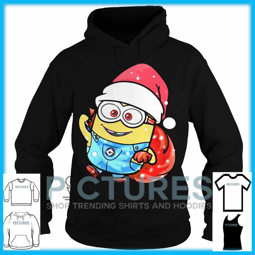 Minion Santa Christmas Hoodie