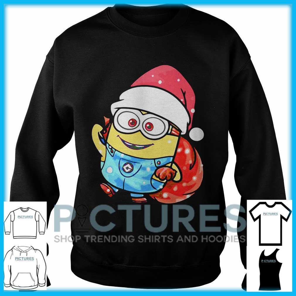 Minion Santa Christmas Sweater