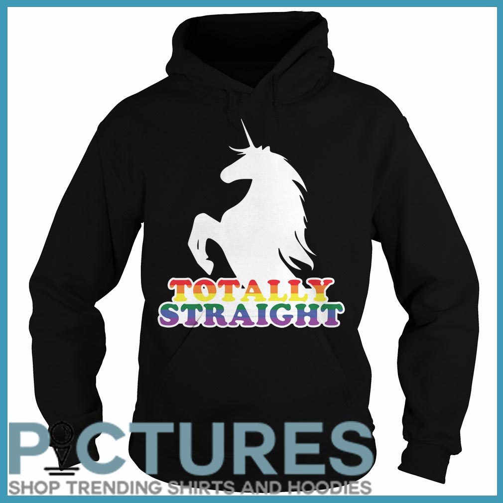 Totally Straight Unicorn Hoodie