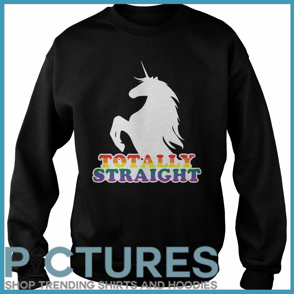 Totally Straight Unicorn Sweater