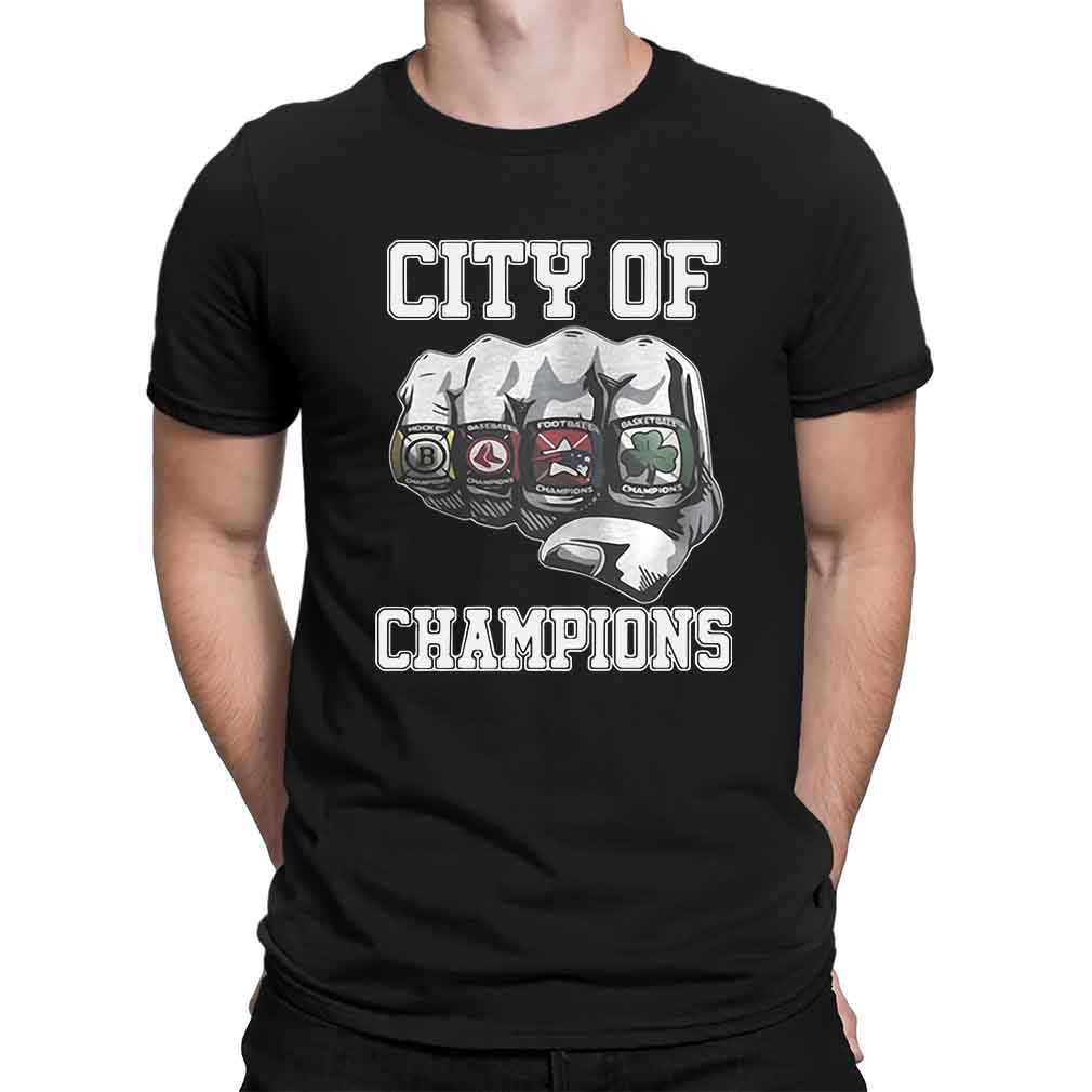 City Of Champions Boston Sports Teams Citizen Shirt