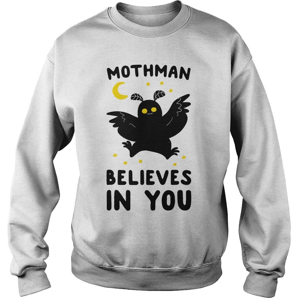 Mothman believes in you sweater