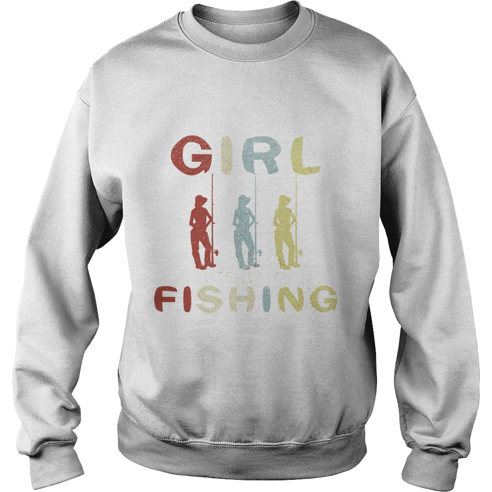 Once upon a time there was a girl who really loved fishing it was me the end sweater