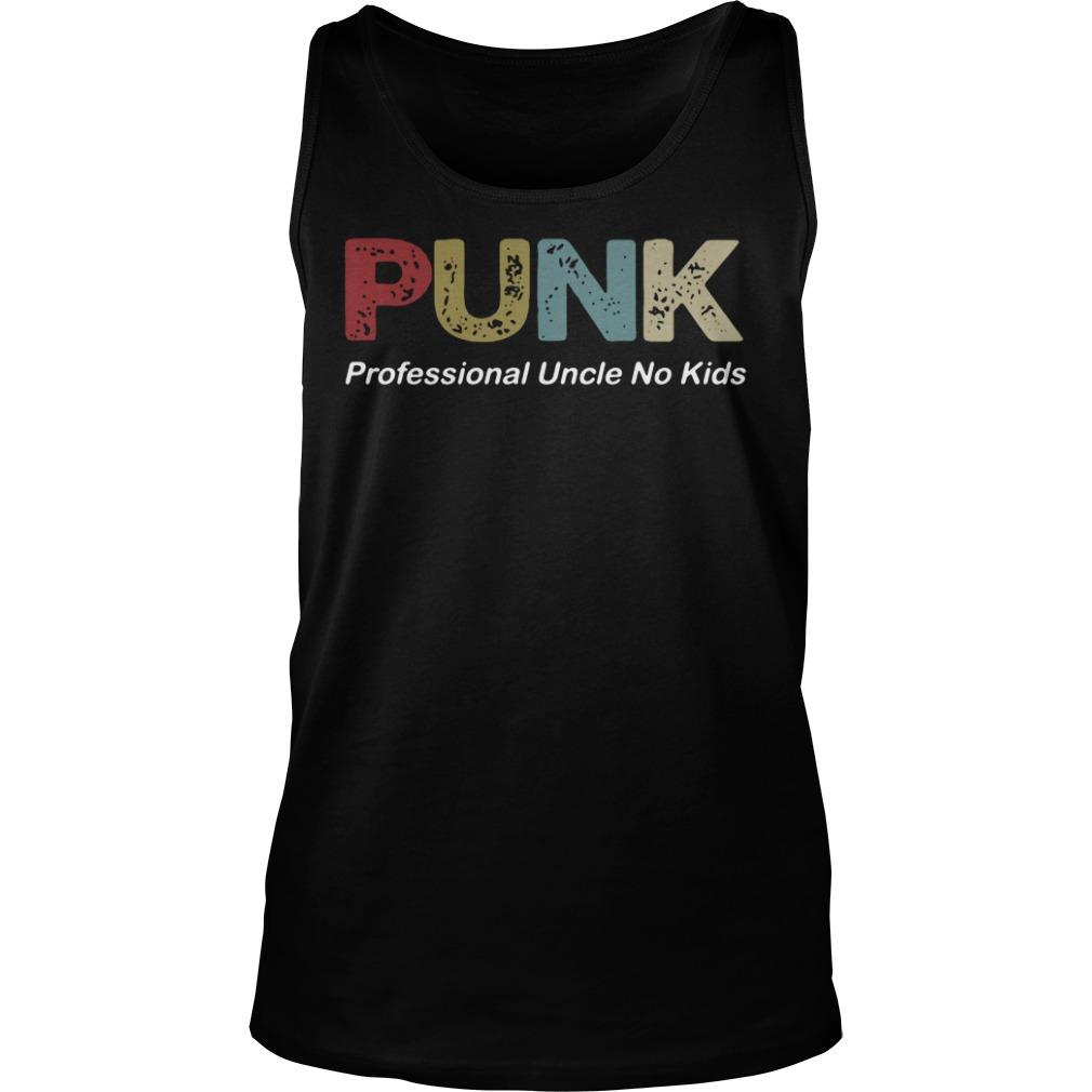 Punk Professional Uncle No Kids tank top