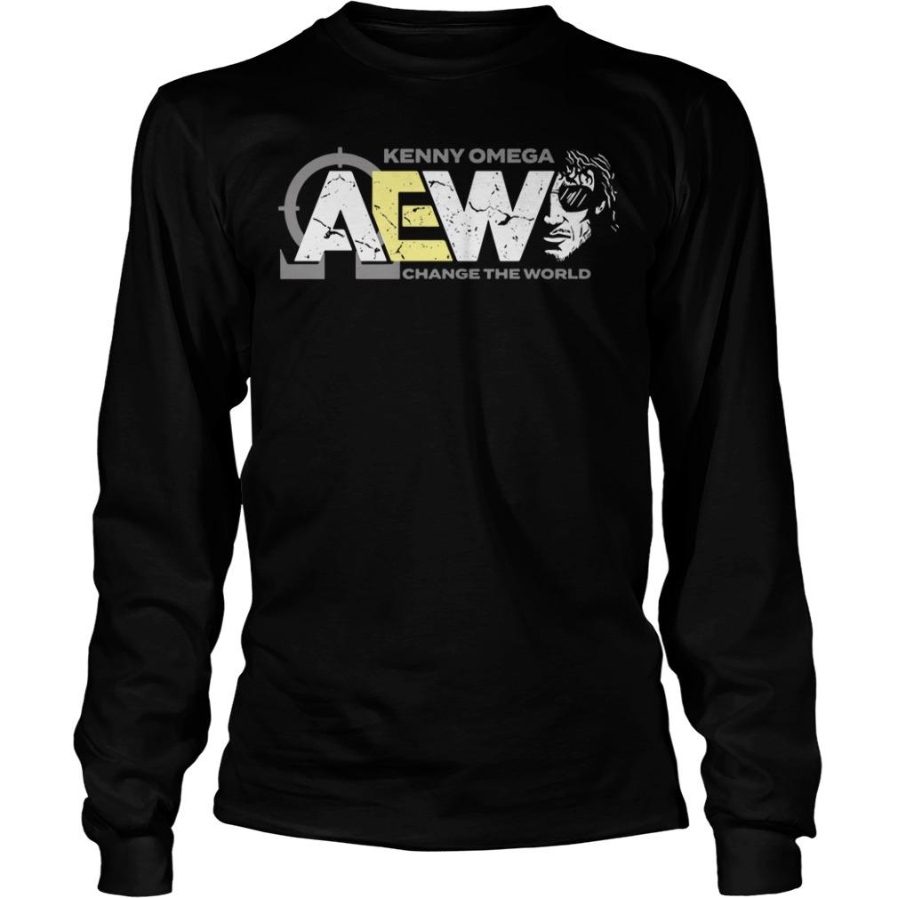 AEW Kenny Omega change the world long sleeve