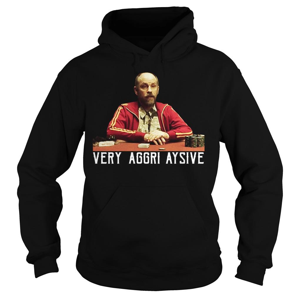 Rounders Teddy KGB Very Aggri-Aysive hoodie