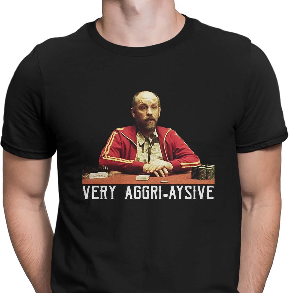 Rounders Teddy KGB Very Aggri-Aysive shirt