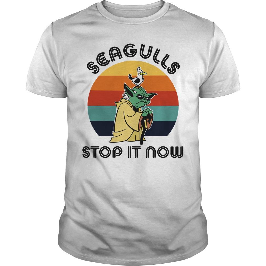 Seagulls stop it now guys tee
