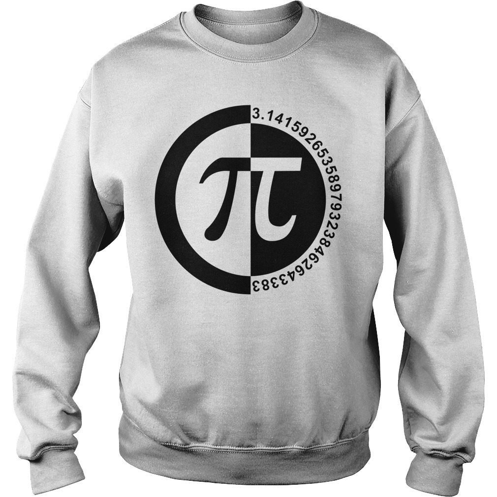 Pi Day number sweater