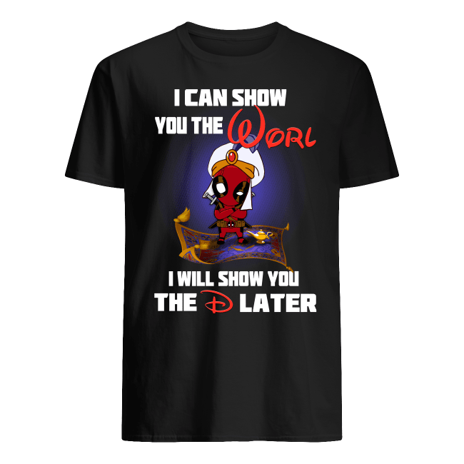 Aladdin Deadpool shirt