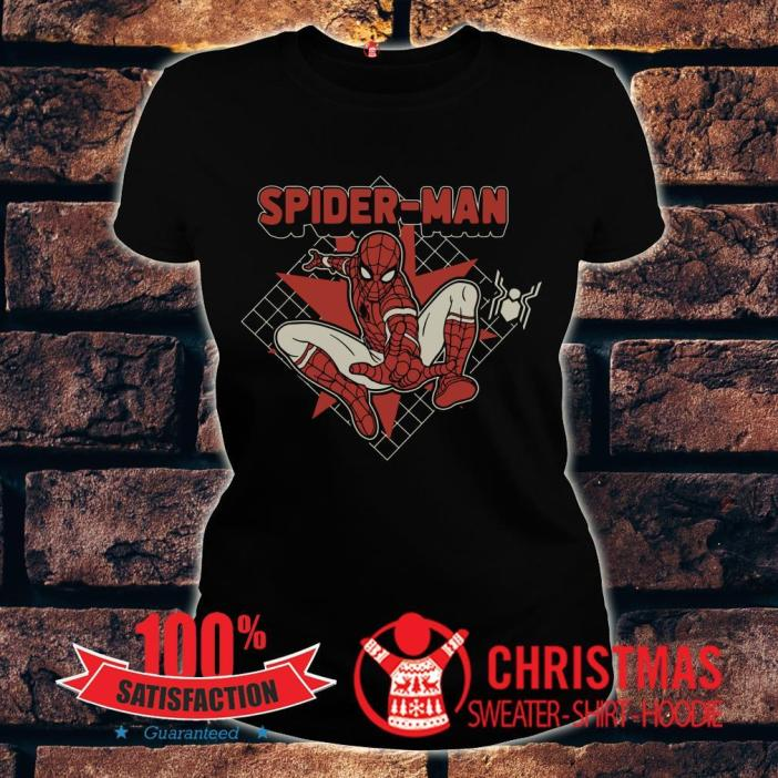 Marvel Spider-man Far From Home Retro Poster Shirt 1 Picturestees Clothing - T Shirt Printing on Demand