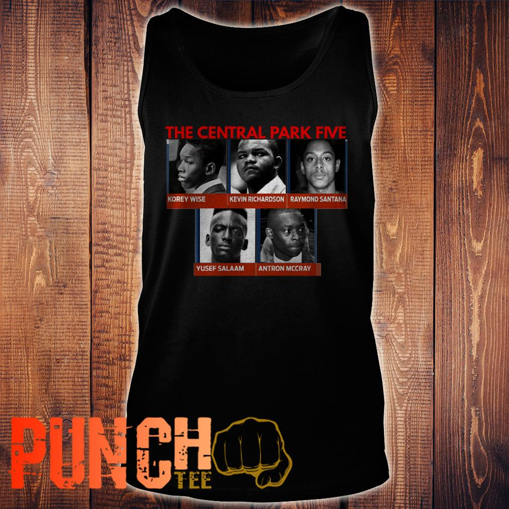 When They See Us Central Park Five Names Shirt  1 Picturestees Clothing - T Shirt Printing on Demand