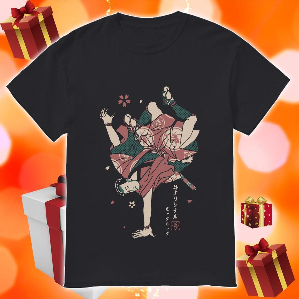 HIPHOP SAMURAI shirt