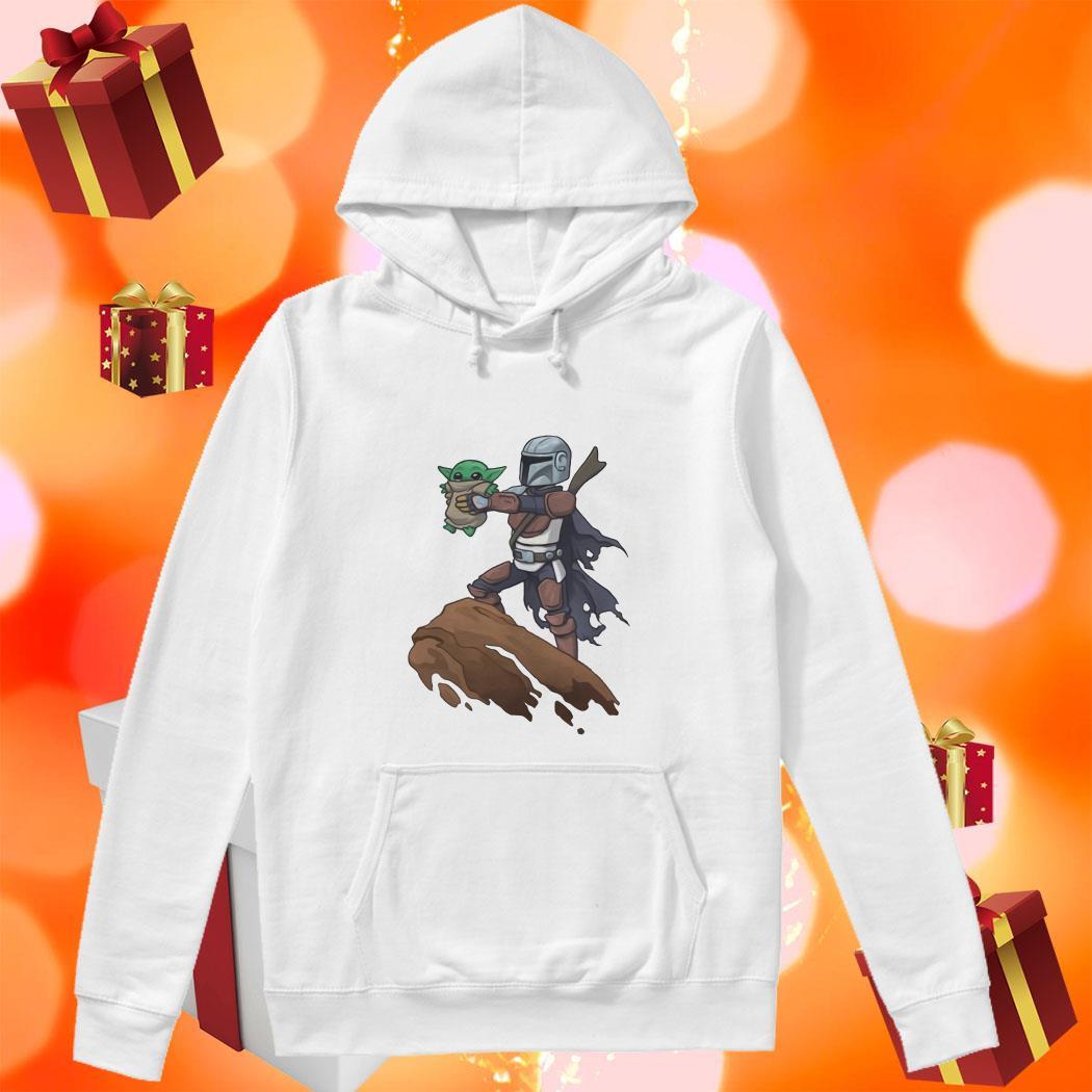 Baby Yoda Boba Fett The Lion King hoodie