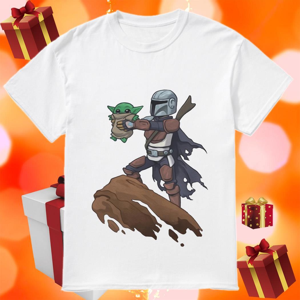 Baby Yoda Boba Fett The Lion King shirt