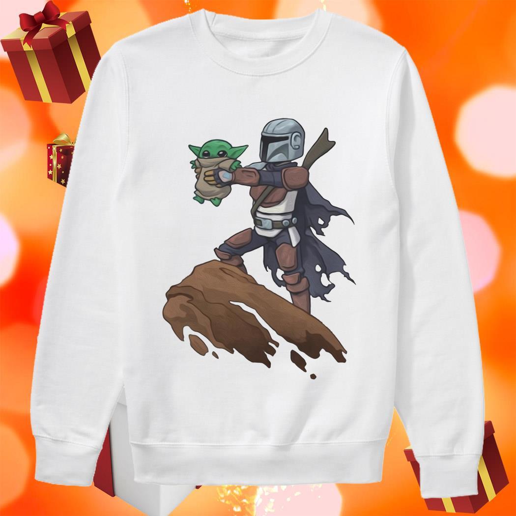 Baby Yoda Boba Fett The Lion King sweater