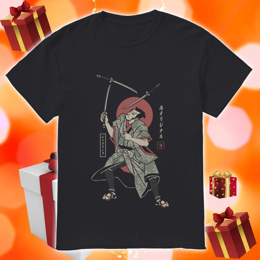 JUGGLING SAMURAI shirt