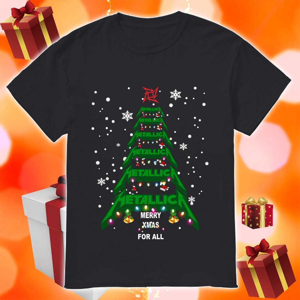 Metallica Merry Xmas For all sweatshirt