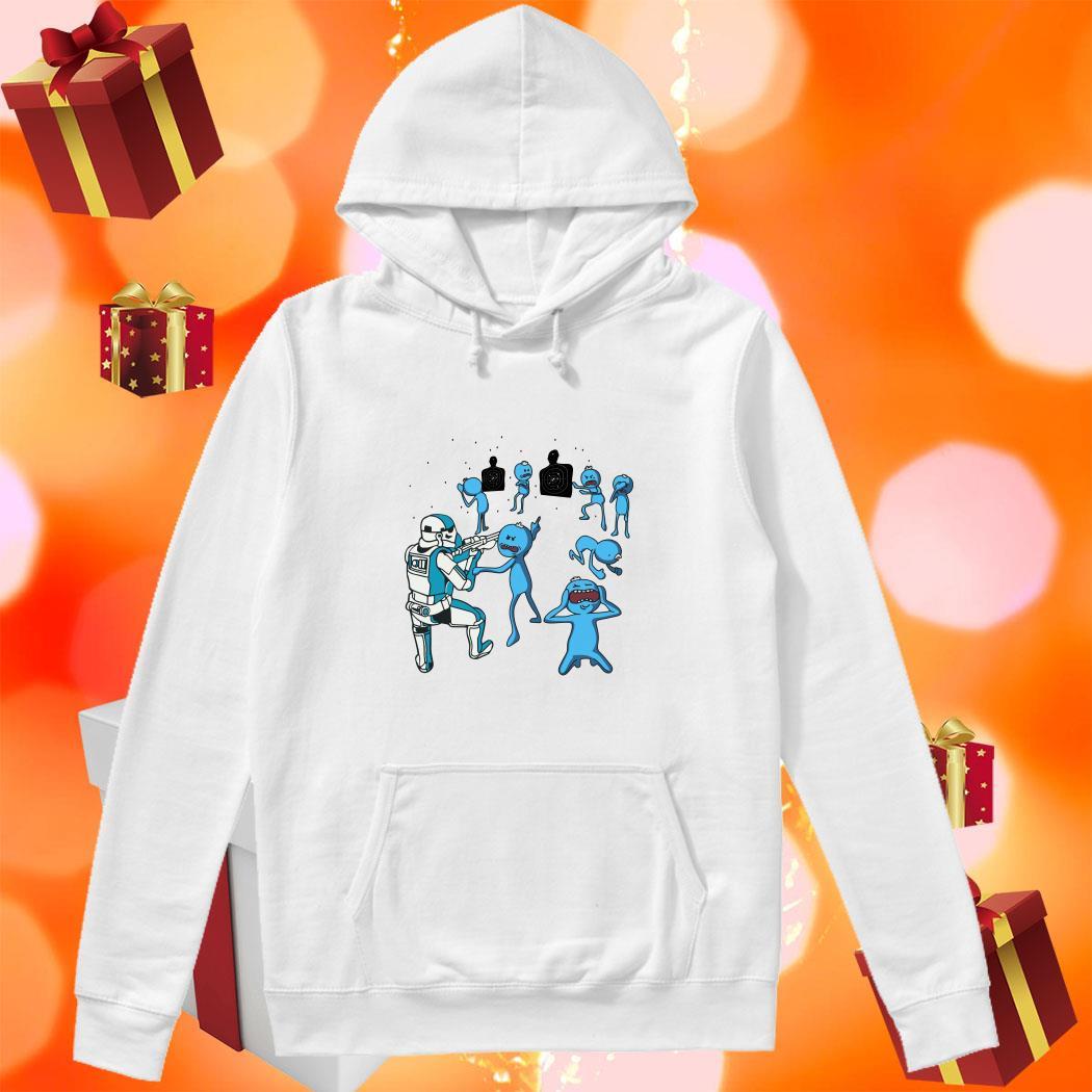 Mr Meeseeks and Stormtrooper hoodie