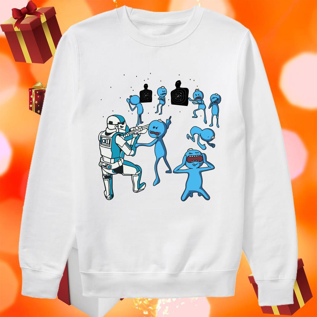 Mr Meeseeks and Stormtrooper sweater