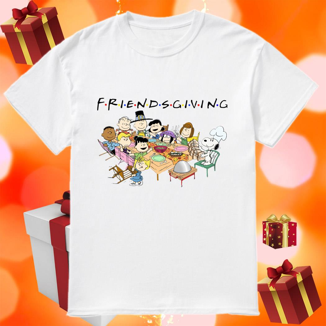 Peanuts Snoopy Friendsgiving shirt