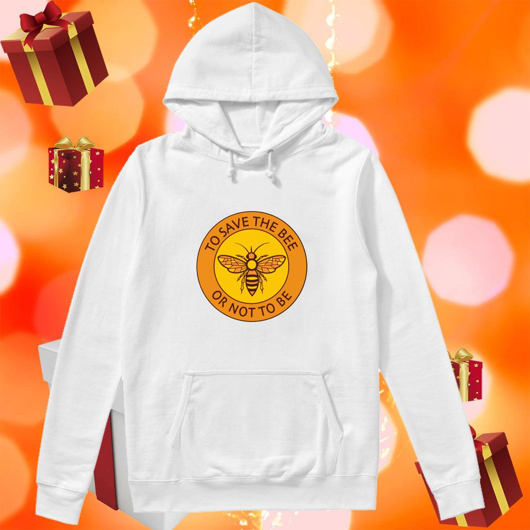 To save the bee or not to be hoodie