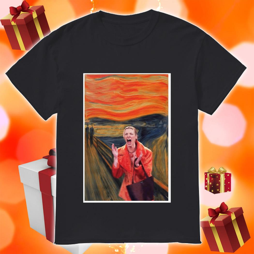 The Scream Phoebe Buffay Friends TV Show t-shirt