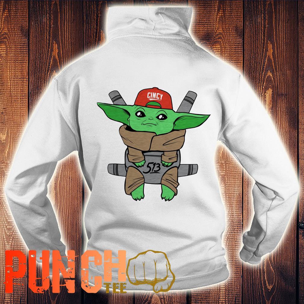 Baby Yoda Star War Carrier hoodie