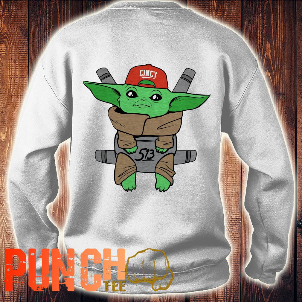 Baby Yoda Star War Carrier sweater