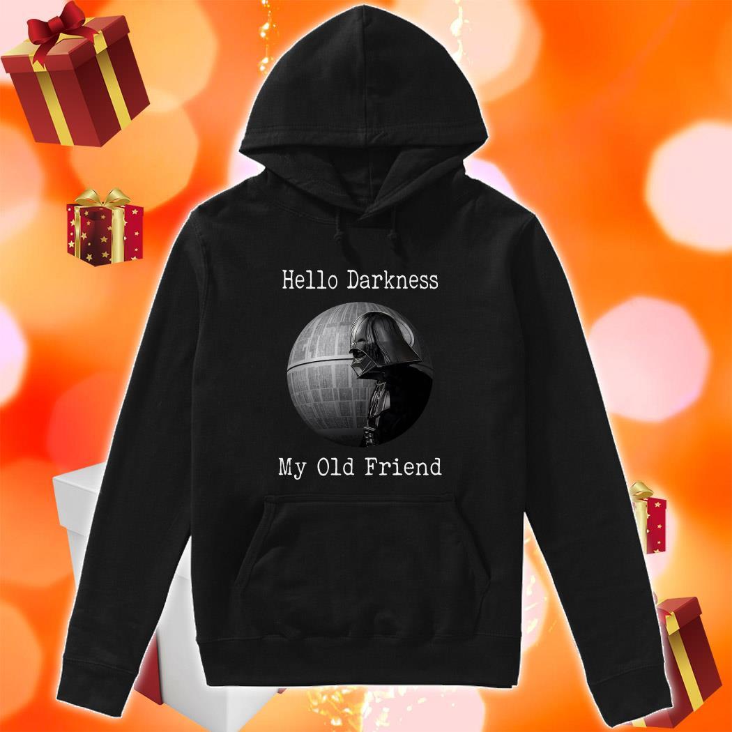 Darth Vader Star Wars Hello Darkness my old friend hoodie