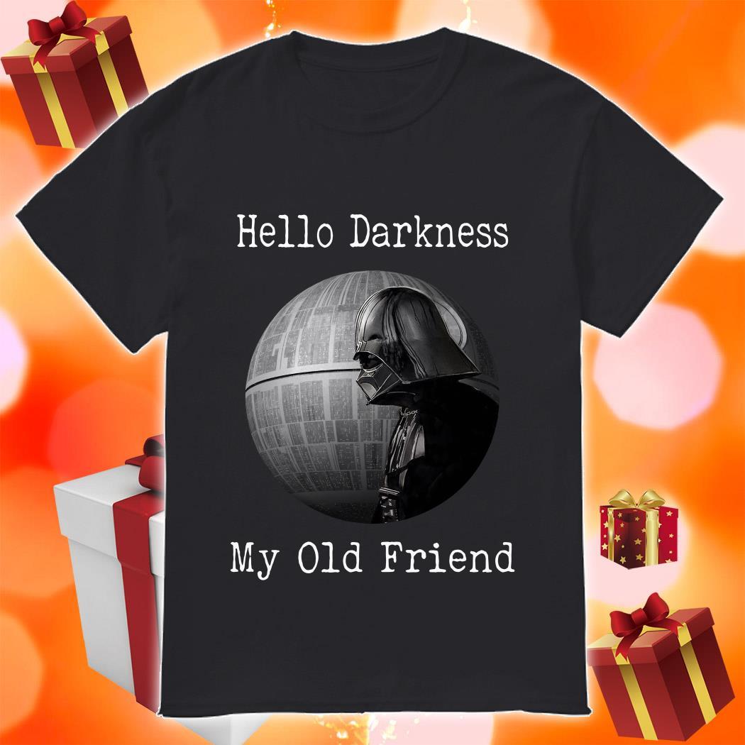 Darth Vader Star Wars Hello Darkness my old friend shirt