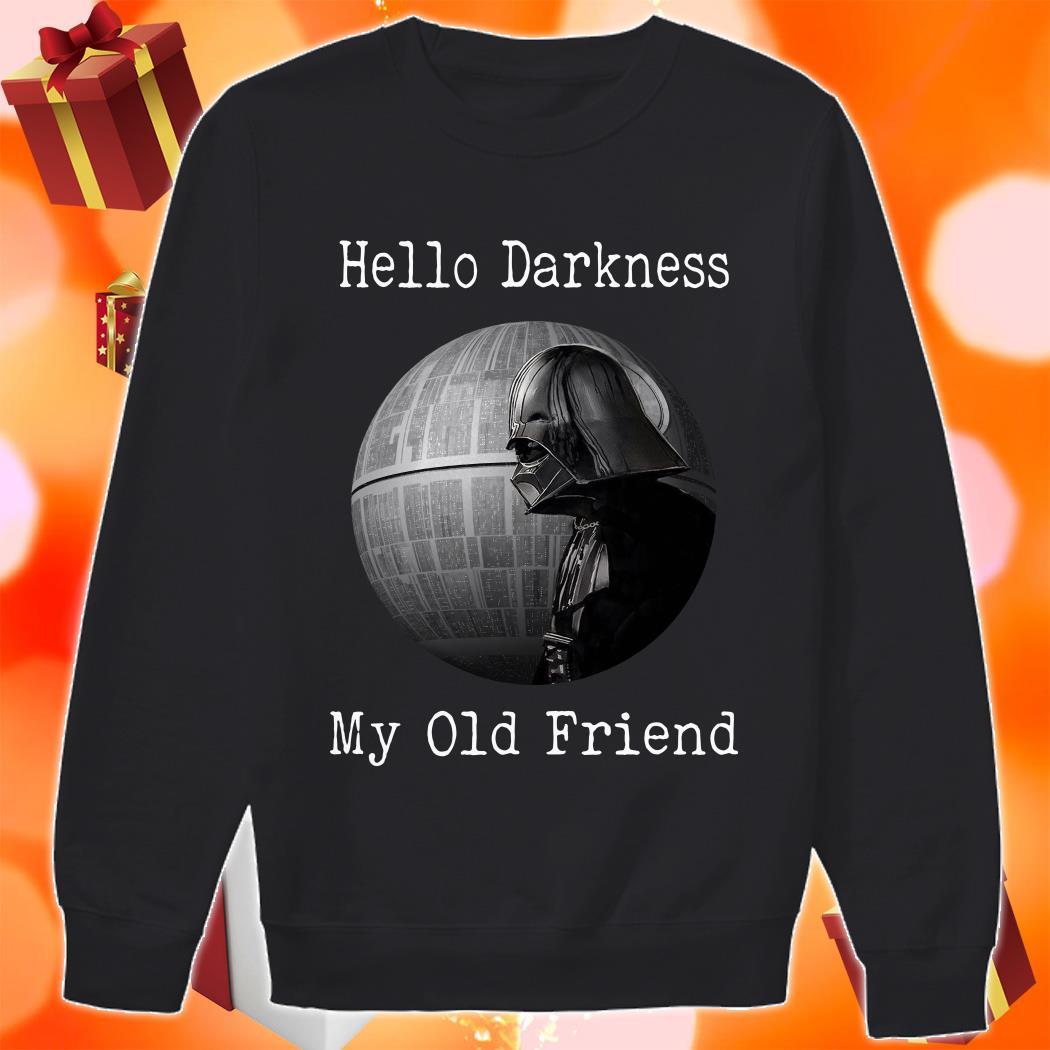 Darth Vader Star Wars Hello Darkness my old friend sweater