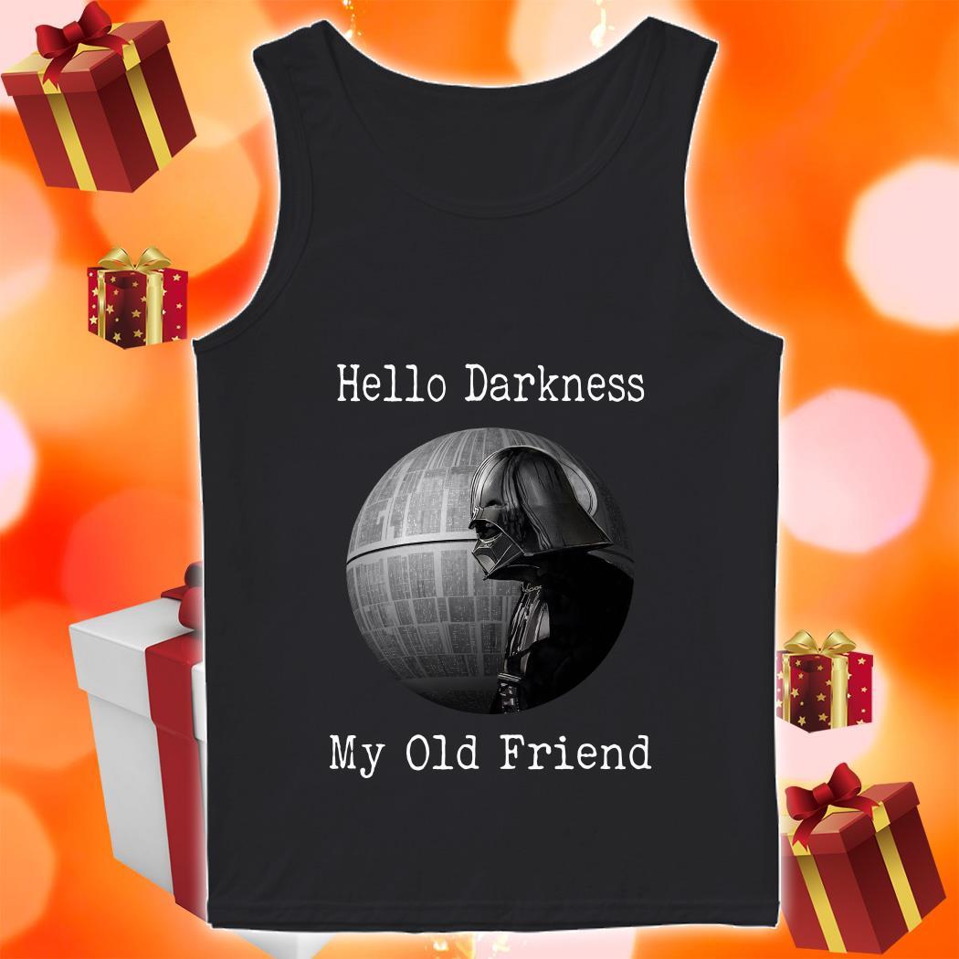 Darth Vader Star Wars Hello Darkness my old friend tank top