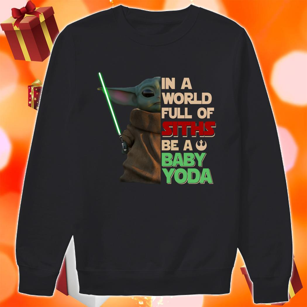 In a world full of Siths be a Baby Yoda sweater
