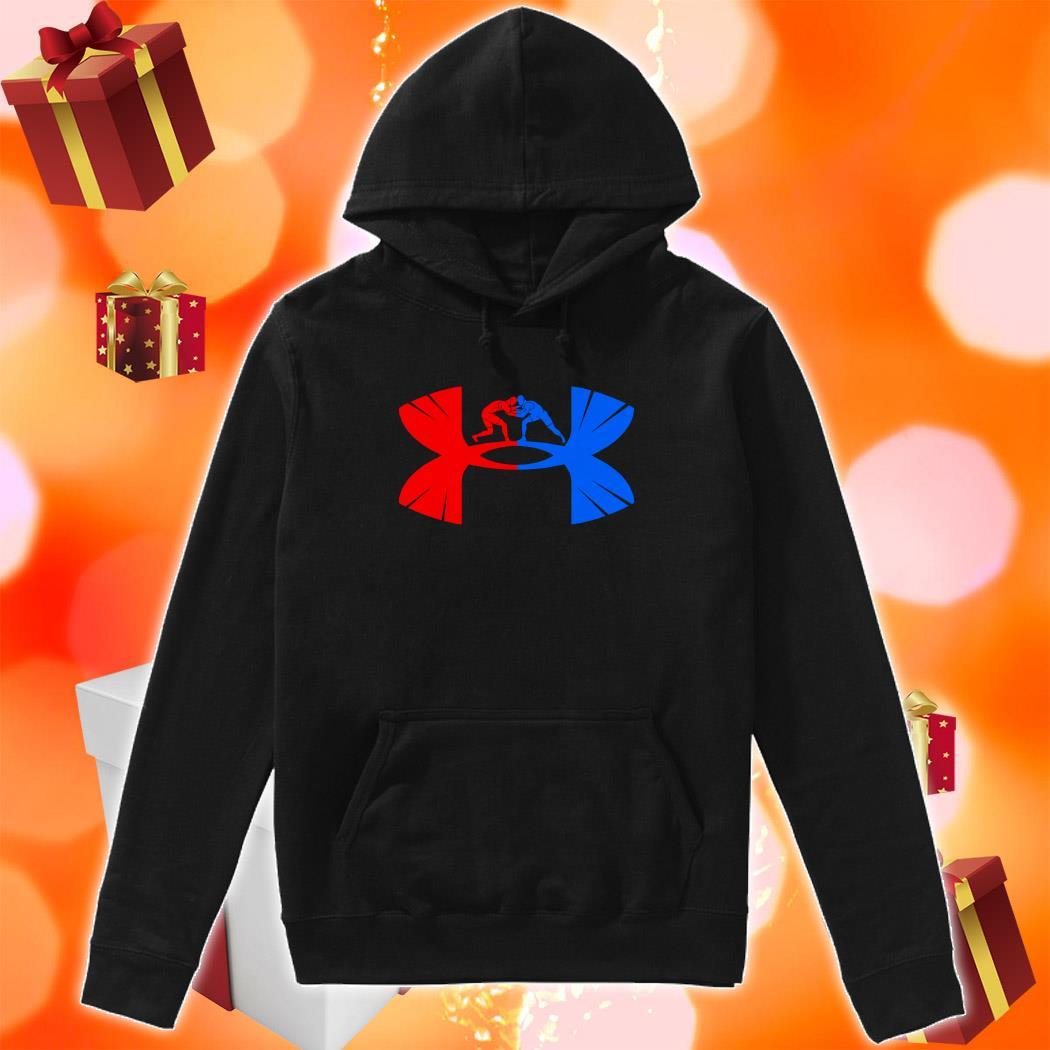 Judo Under armour logo parody hoodie