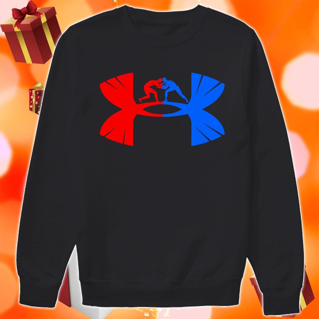 Judo Under armour logo parody sweater