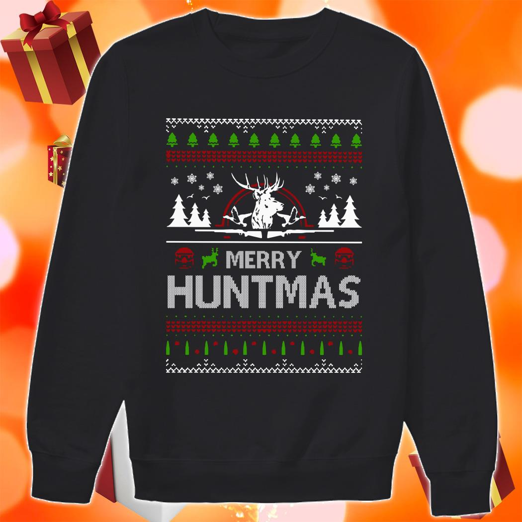 Merry Huntmas Ugly Christmas sweater