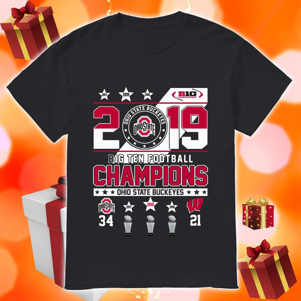 Ohio State Buckeyes 2019 Big Ten Football Champions shirt