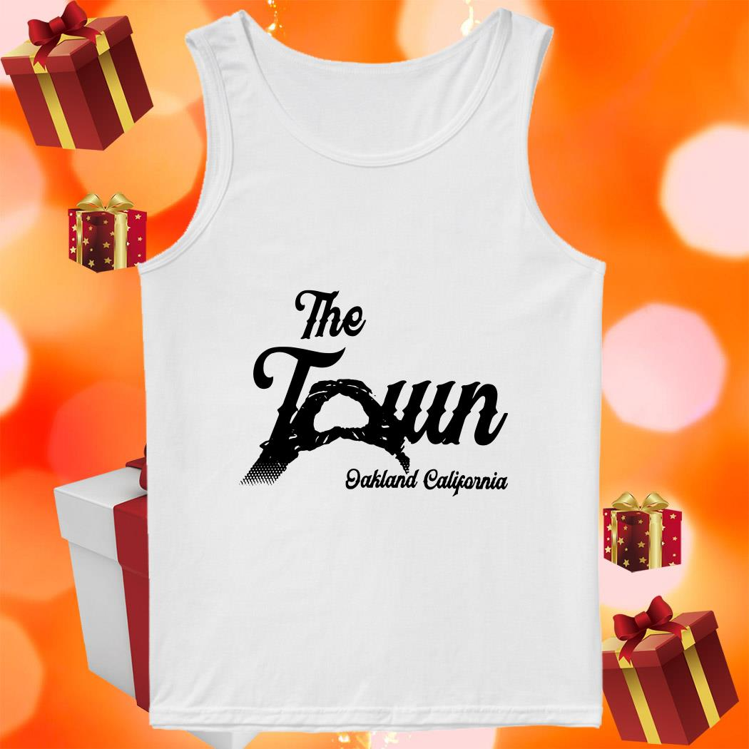 The Town Oakland California tank top