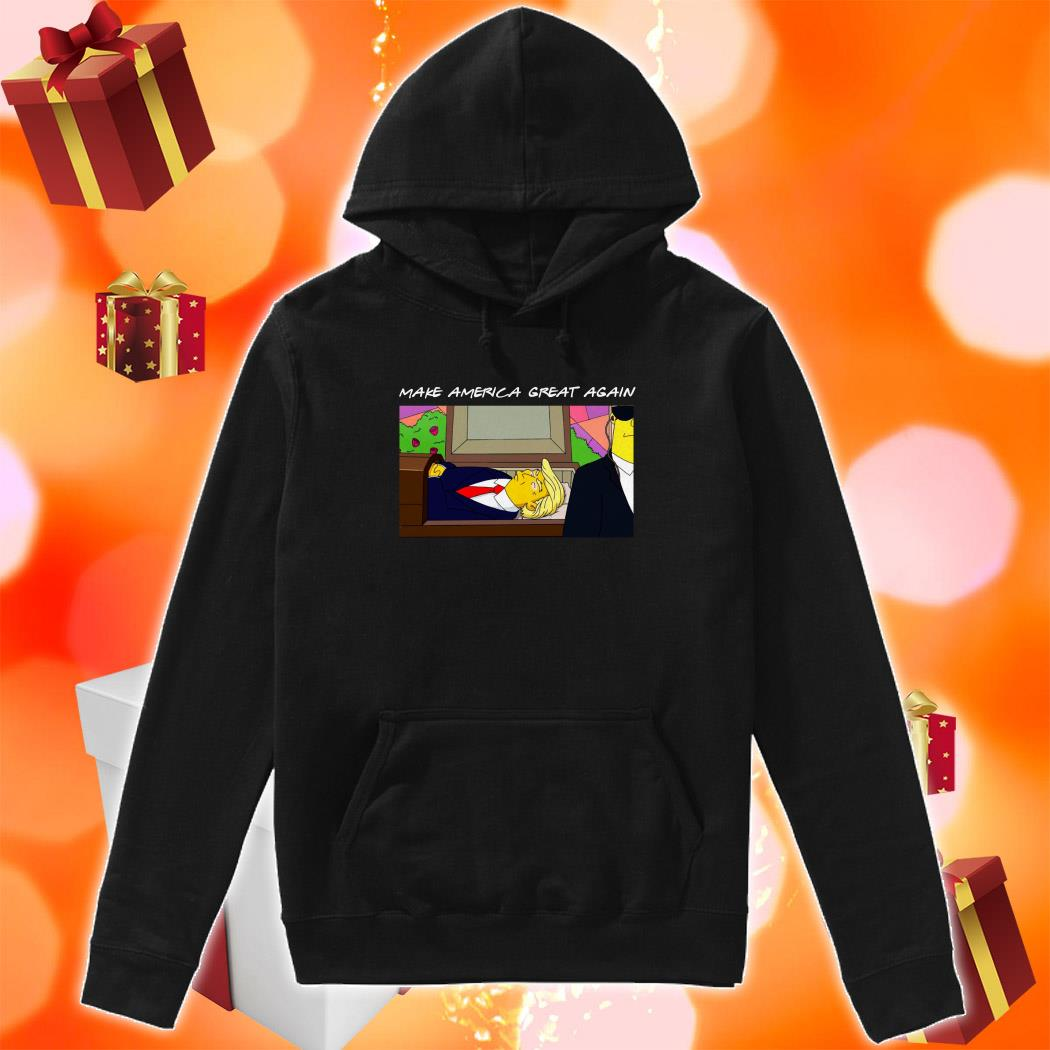 TRUMP SIMPSONS Make America Great again hoodie
