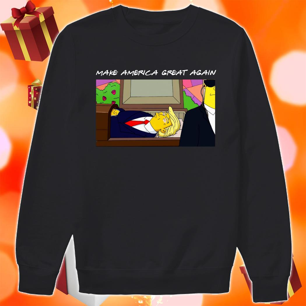 TRUMP SIMPSONS Make America Great again sweater