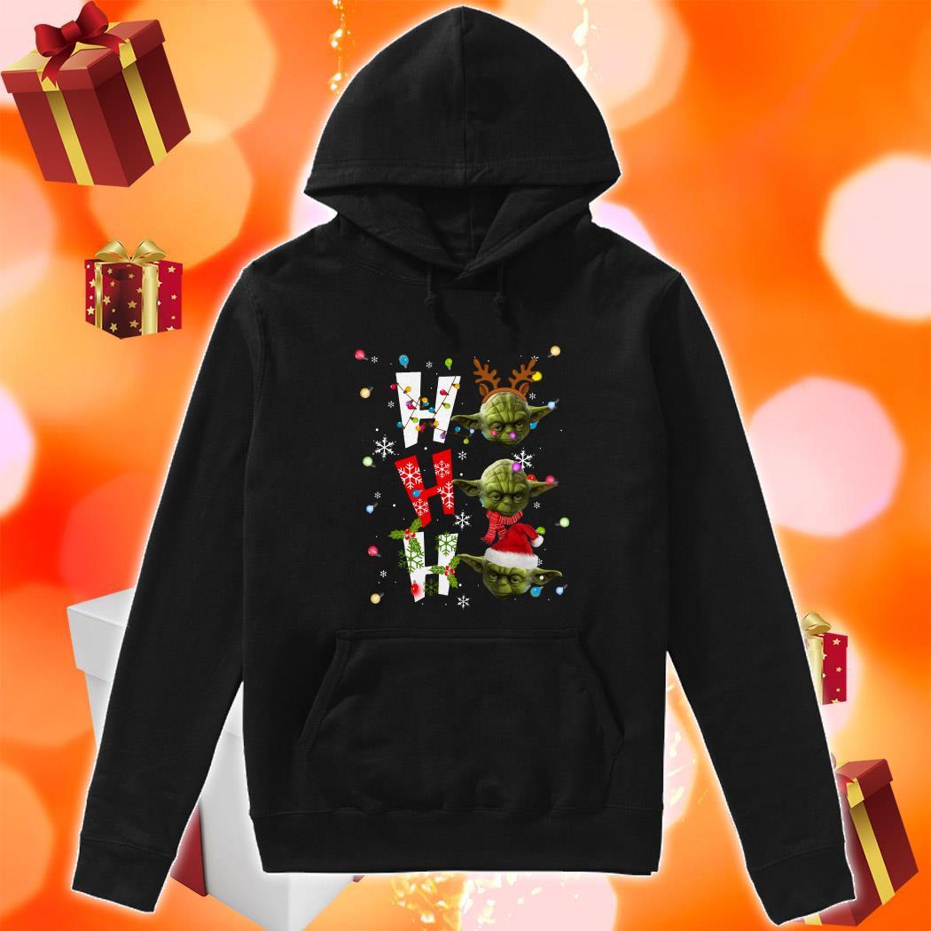 Yoda Ho Ho Ho Christmas hoodie