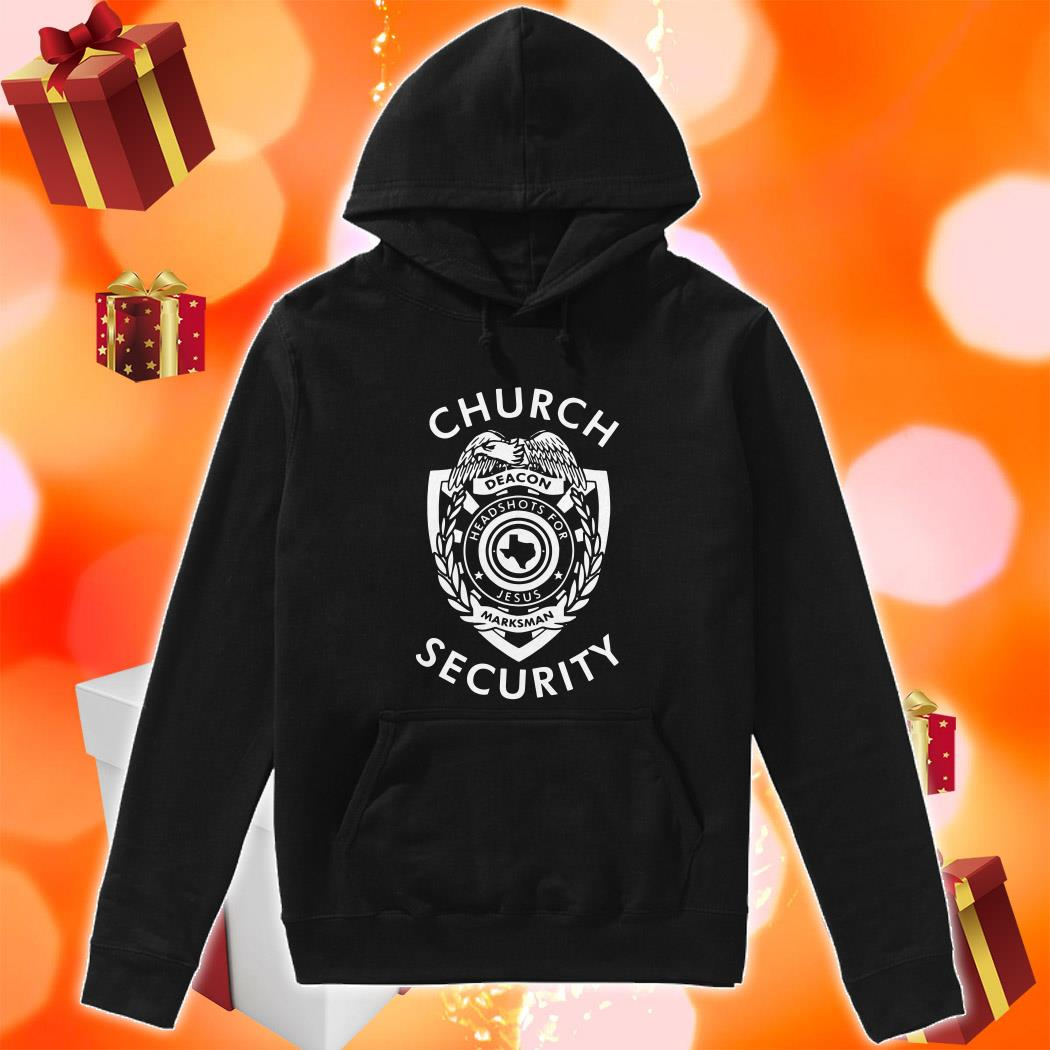 Church Security deacon headshots for Jesus hoodie